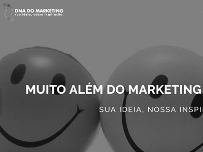 SITE INSTITUCIONAL DNA DO MARKETING